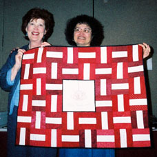 Malice Domestic 2002, Annette's quilt for the silent auction.